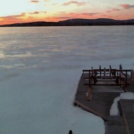 Tupper Lake Sunset 03/12/09