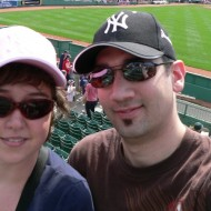 Yankee fans at fenway