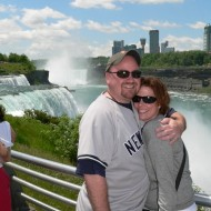 Tom and Alyssa at Niagara Falls