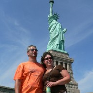 At the Statue