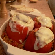 stuffed peppers finished