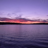 another sunset over Tupper Lake