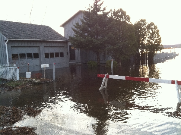 Tupper Lake Flood