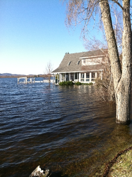 Tupper Lake Flood 2011